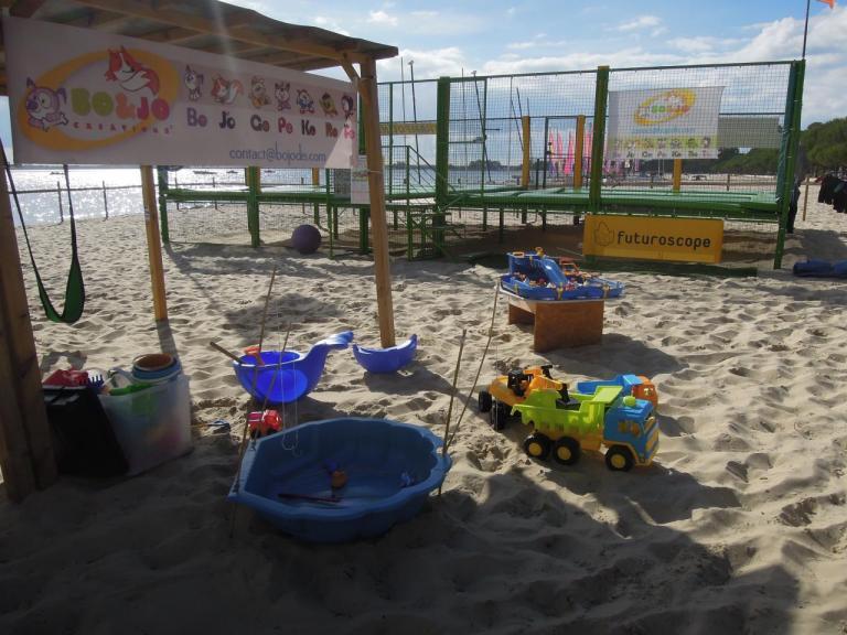 Les jeux de plage